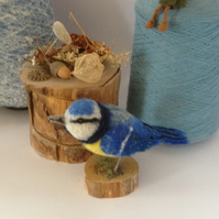 Bird textile sculpture