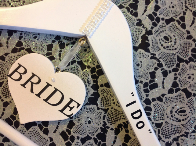 Bridal wedding hanger