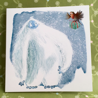 Christmas Cards Yeti (5 Pack)