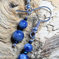 Blue Jasper and spinel necklace