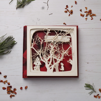 Little Red - paper cut book, Little Red Riding Hood, free P&P!