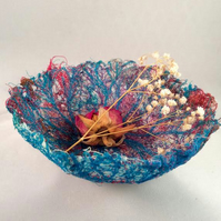 Blue Vein Thread Bowl