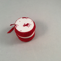 Miniature Macaroon Style Zipper Purse