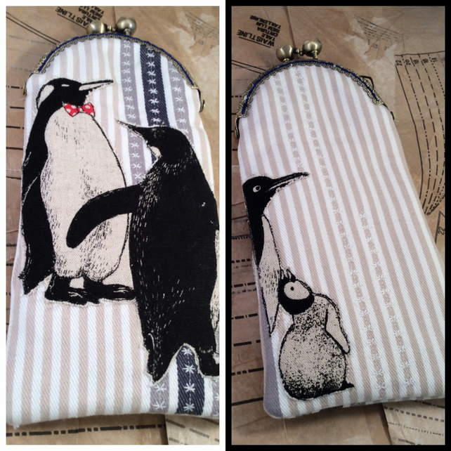 Emperor Penguin Glasses Case