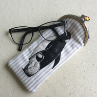 Penguin Family Glasses Case
