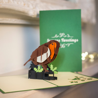 Rockin Robin Pop Up Card