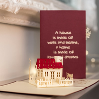 New Home Pop Up Card