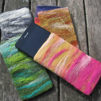 Felted  case for glasses and small phones