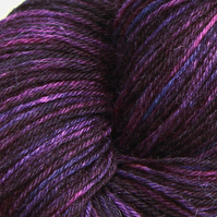 Deep in Thought - Superwash Bluefaced Leicester 4-ply yarn