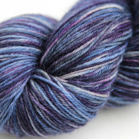 SALE: Bumps and Bruises - Superwash Bluefaced Leicester 4-ply yarn