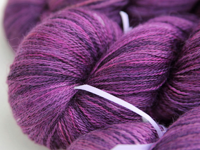 SALE - Indulge - Silky baby alpaca laceweight yarn