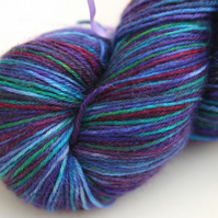 SALE Flights of Fancy - Superwash Bluefaced Leicester-nylon 4-ply yarn