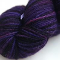 SALE Far Galaxy - Superwash Bluefaced Leicester DK yarn