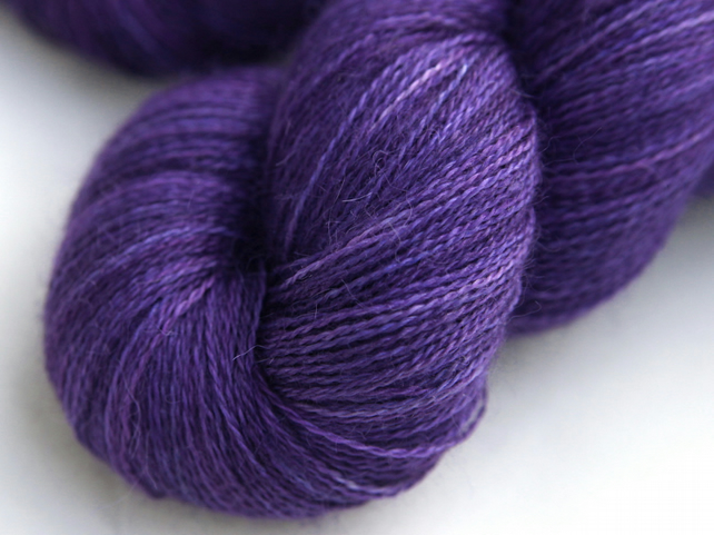 SALE: Luxe - Silky Baby alpaca laceweight yarn