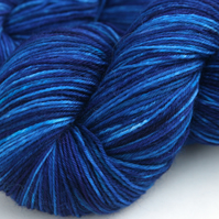 SALE Blue Moon - Superwash Polwarth 4-ply yarn