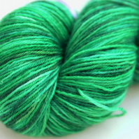SALE: Go Green - Superwash Bluefaced Leicester 4-ply yarn