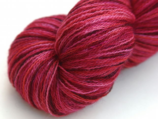 SALE - Plumeria - Bluefaced Leicester laceweight yarn