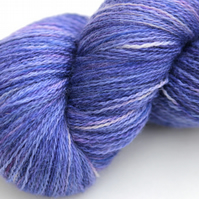 SALE: Campanula - Bluefaced Leicester Laceweight yarn