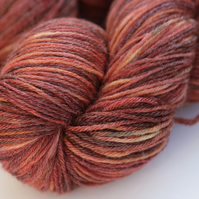 SALE: Redwood - Superwash BFL-Bamboo 4-ply yarn