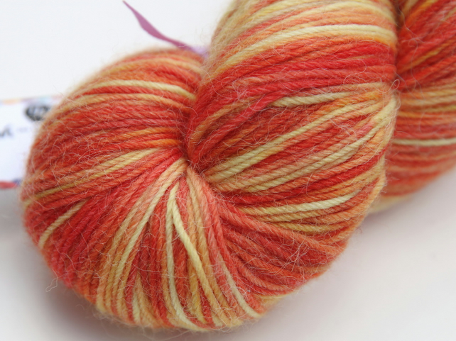 SALE: Illuminate - Squashy superwash merino, alpaca, nylon 4-ply yarn
