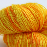 Sunray - Superwash Bluefaced Leicester 4-ply yarn