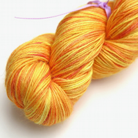 SALE: Lemon Grove - Silky baby alpaca 4-ply yarn