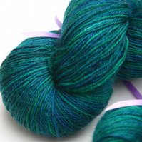 SALE: Lamentation - Superwash Bluefaced Leicester 4-ply yarn