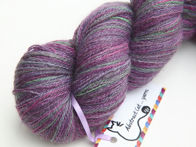 SALE: Old Lavender - Bluefaced Leicester laceweight yarn