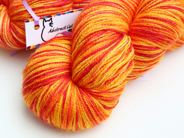 SALE: Good as Gold - Superwash Silky Bluefaced Leicester laceweight yarn