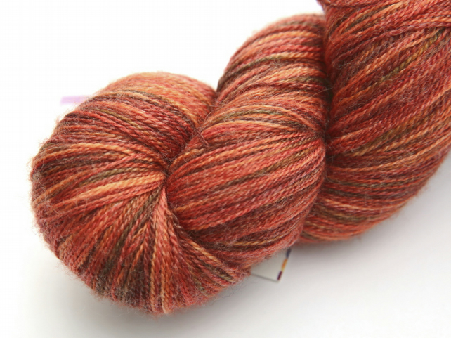 Crunch! - Superwash merino-bamboo laceweight yarn
