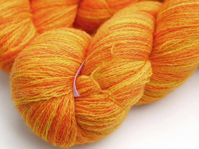 SALE: Sundrops - Bluefaced Leicester laceweight yarn