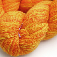 Sundrops - Bluefaced Leicester laceweight yarn