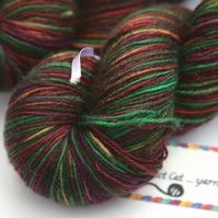Pheasant - Superwash Bluefaced Leicester 4-ply yarn
