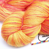 SALE: Popsicle - Silky baby alpaca laceweight yarn