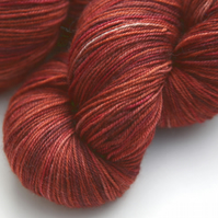Red Earth - Superwash merino yak nylon 4-ply yarn