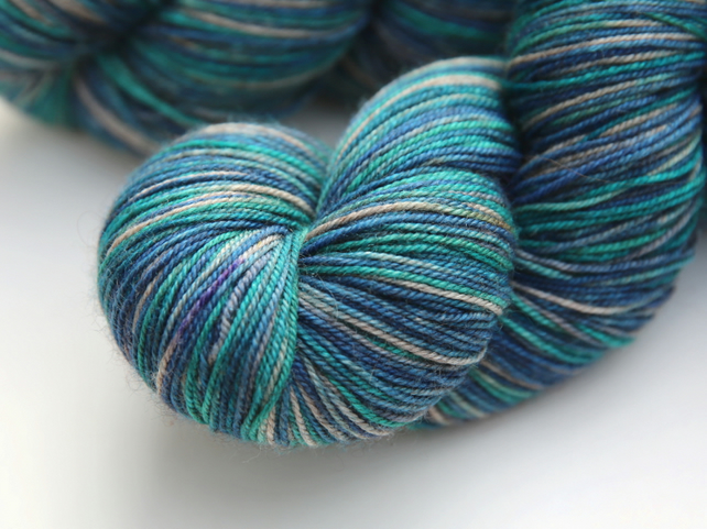 Rainfall - Superwash merino yak nylon 4-ply yarn