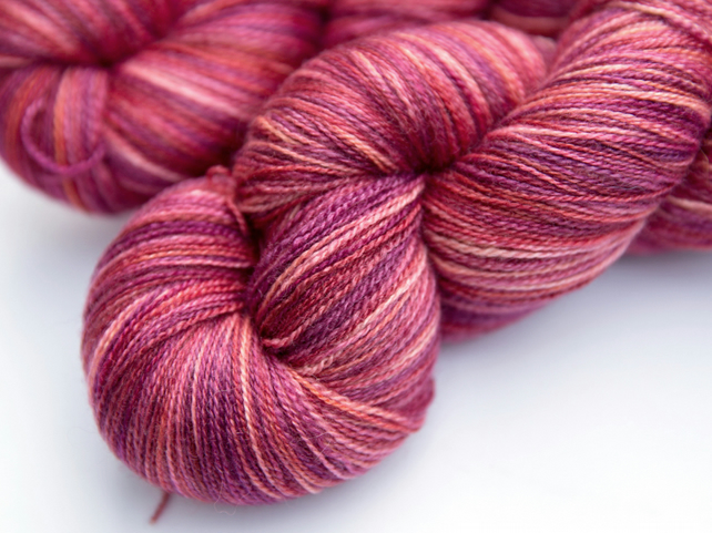 Switzerland - Silky Superwash Bluefaced Leicester laceweight yarn