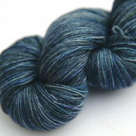 Winter Gloom - Superwash Bluefaced Leicester 4-ply yarn