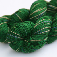 SALE: School Tie - Superwash merino yak nylon 4-ply yarn