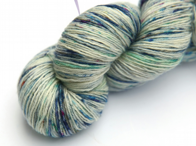 Cold Snap - Superwash Bluefaced Leicester 4-ply yarn