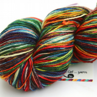Primary - Superwash Bluefaced Leicester 4-ply yarn
