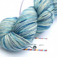 SECOND - April Showers - Superwash Bluefaced Leicester 4-ply yarn