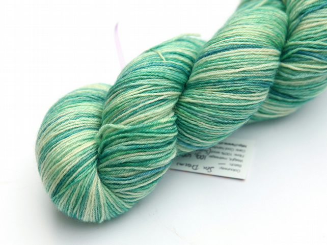 Sea Dreams - Superwash Bluefaced Leicester 4-ply yarn