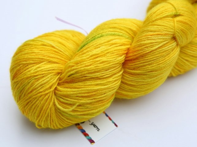 Zested - Superwash Bluefaced Leicester 4-ply yarn