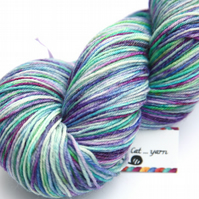 Bright Ideas - Superwash Bluefaced Leicester - Bamboo 4-ply yarn