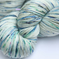 A Little Mischief - Superwash merino - bamboo laceweight yarn