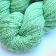 SALE: Sea Breezes - Bluefaced Leicester laceweight yarn