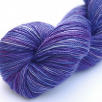Woodland Bluebells - Superwash Bluefaced Leicester 4-ply yarn