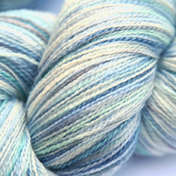 On the Wing - Silky Superwash Bluefaced Leicester laceweight yarn