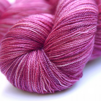 SALE: Rose Garden - Silky Superwash Bluefaced Leicester laceweight yarn